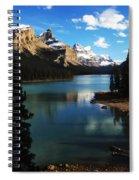 Spirit Island Jasper Canada Spiral Notebook