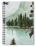 Spirit Lake Spiral Notebook