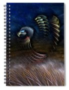Spirit Of A Duck Spiral Notebook