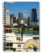 Spirit Of America And Cincinnati  Spiral Notebook