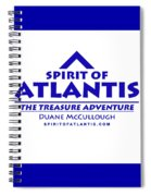 Spirit Of Atlantis Logo Spiral Notebook