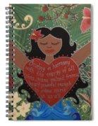 Spirit Of Mana Spiral Notebook
