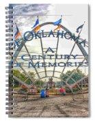 Spirit Of Oklahoma Plaza  Spiral Notebook
