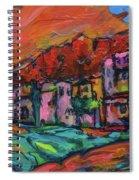 Spirit Of Santa Fe Spiral Notebook