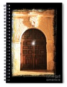 Spirit Of The Alamo With Framing Spiral Notebook