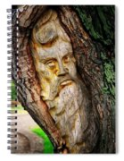 Spirit Of The Forest ... Spiral Notebook