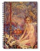 Spirit Of The Garden Spiral Notebook