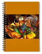 Spirit Of The Lamp Spiral Notebook