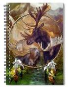 Spirit Of The Moose Spiral Notebook