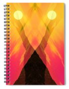 Spirit Of The Mountain Spiral Notebook
