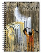 Spirit Of The Night Spiral Notebook