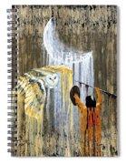 Spirit Of The Night Spiral Notebook