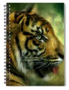 Spirit Of The Tiger Spiral Notebook