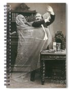 Spirit Photograph, 1863 Spiral Notebook