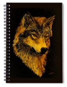 Spirit Wolf Spiral Notebook