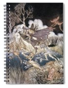 Spirits In Sleepy Hollow Spiral Notebook