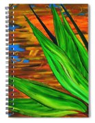 Spiritual Beingness Of Plants And Theta Spiral Notebook