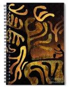 Spiritual Drummer Spiral Notebook