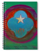 Spiritual Green Spiral Notebook