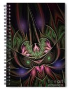 Spiritual Mask Spiral Notebook