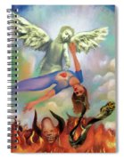 Spiritual Warfare Of Heart And Mind Spiral Notebook