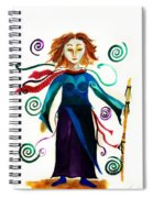 Spiritual Warrior Spiral Notebook