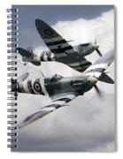 Spitfire Flying Legends Spiral Notebook