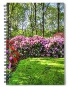 Splash Of Colors Spiral Notebook