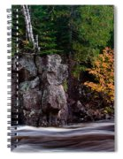 Splash Of Fall Color Spiral Notebook