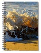 Splash Of Summer - Cape Cod National Seashore Spiral Notebook