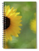 Splash Of Yellow Spiral Notebook