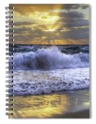 Splash Sunrise IIi Spiral Notebook