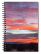 Splashes Of Color Spiral Notebook