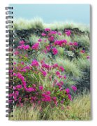 Splashes Of Pink Spiral Notebook