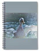 Splashing Duck Spiral Notebook