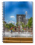 Splashville Of Asheville Spiral Notebook