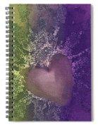 Splattered Ink Spiral Notebook