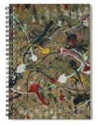 Splattered Spiral Notebook