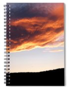 Splendid Cloudscape 11 Spiral Notebook