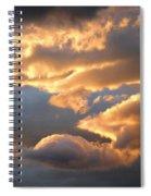 Splendid Cloudscape 2 Spiral Notebook