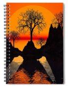Splintered  Sunlight- Spiral Notebook