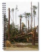 Splintered Trees Spiral Notebook