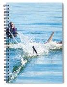 Splish Splash Spiral Notebook
