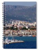 Split Croatia's Waterfront Spiral Notebook