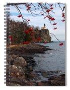 Split Rock Berries Spiral Notebook