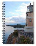 Split Rock Lighthouse Four Spiral Notebook