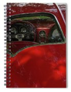 Split Roof Corvette Spiral Notebook
