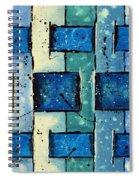 Split Weave Spiral Notebook