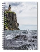 Splitrock Lighthouse 8-4-17 Spiral Notebook