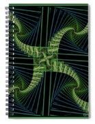 Splits Bow Spiral Notebook